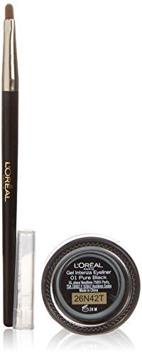L'Oréal Make Up Designer Paris Super Liner Gel Intenza Eyeliner, Nero