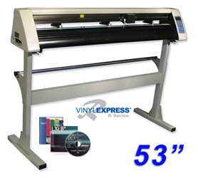 "Sign Warehouse Vinyl Express® Cutter 53"" w/ VE LXi Apprentice Software for Sign Making Hobby Craft"