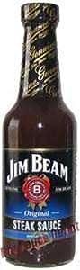 Hot Sauce Depot 60294000 Jim Beam Kentucky Bourbon Steak Sauce, 11oz - Pack of 3
