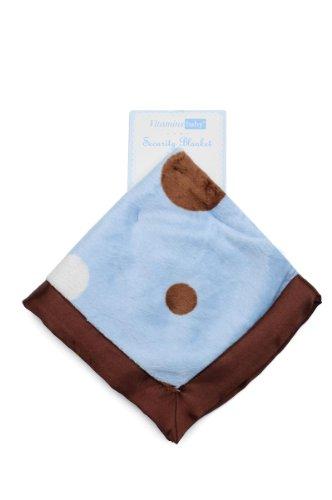 Vitamins - Baby Security Blanket - Playful Polka Dots