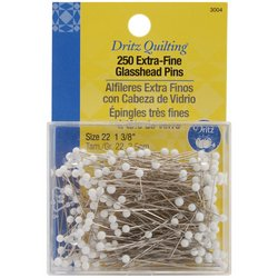 Learn More About Dritz Quilting Extra Fine Glass Head Pins , 250 Count