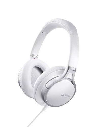 Sony Mdr10Rncip Ipad/Iphone/Ipod Noise-Canceling Wired Headphones (White)
