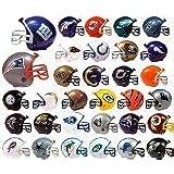 "NFL Football Mini Helmets ""Pencil Toppers"" Capsule Toys Set of 32 Vending"