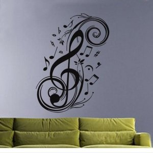 Onceall Wall Art Decor Removable Vinyl Decal