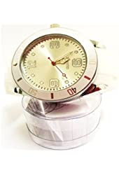 Stash Watch Grinder Real Size Real Grinder *** Six Colors Available *** (White)