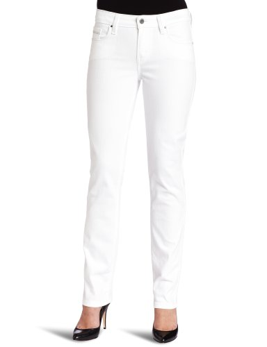 Levi's Women's Mid Rise Skinny Jean, White Reflection, 12 Medium