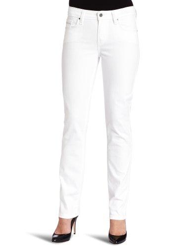 Levi's Women's Mid Rise Skinny Jean 58575, White Reflection, 12 Medium