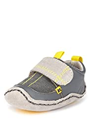 Leather Riptape Cruiser Pram Shoes
