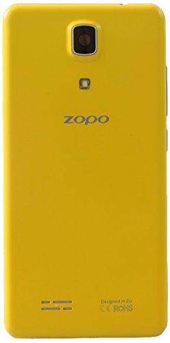 Zopo Mobile ZP330 Smartphone débloqué 4G (Ecran: 4,5 pouces - 8 Go - Double SIM - Android 5.1) Jaune