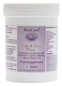 BioCare One-A-Day Plus - Multi Vitamin And Multi Mineral - 90 Tablets