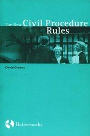 The New Civil Procedure Rules