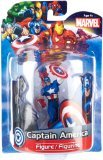 "Jamn Products 4"" Marvel Figure - Captain America - 1"