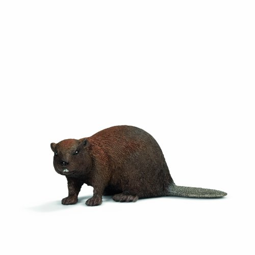 Beaver Plastic Toy Figure by Schleich
