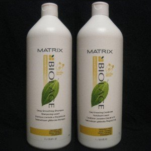 Matrix Biolage Smooththerapie Smoothing Shampoo and Conditioner 33.8 Ounces