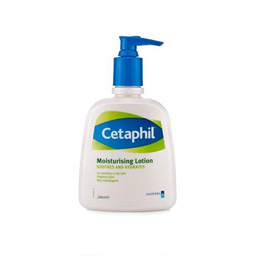 Cetaphil, Crema idratante, per pelli secche e sensibili, 236 ml