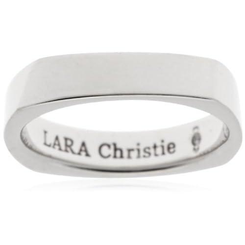 [ララクリスティー]LARA Christie 指輪 アモーレ リング [ WHITE Label ] R6023-W-13 日本サイズ13号