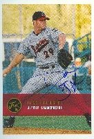 Donnie Bridges Jupiter Hammerheads - Expos Affiliate 2000 Justifiable Autographed... by Hall of Fame Memorabilia