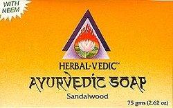 Herbalvedic Ayurvedic - Sandalwood Soap 75 gm - Ayurvedic Soap