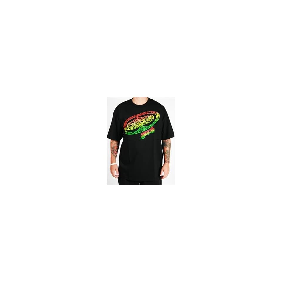 SRH Rasta Big Spade T Shirt   Small/Black