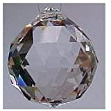 20mm - Clear, Faceted Swarovski Feng Shui Crystals