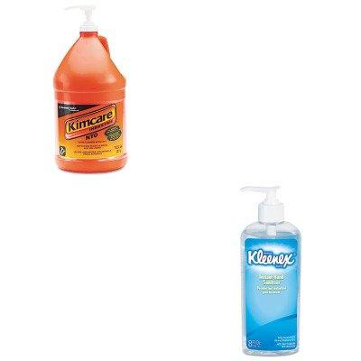 KITKIM91057CTKIM93060EA - Value Kit - KIMBERLY CLARK KIMCARE INDUSTRIE NTO Hand Cleaner w/Grit (KIM91057CT) and KIMBERLY CLARK KLEENEX Instant Hand Sanitizer (KIM93060EA)