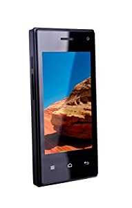 TTsims M5 SMART - 3.5 inch Android Smart Phone - Dual Camera - 3G Dual 2 Sim Cards at the same time - HVGA Wifi 1Ghz Processor Dual Core - Unlocked (USB charger, Black)