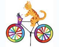 Cat Outdoor Lawn Bike Spinner