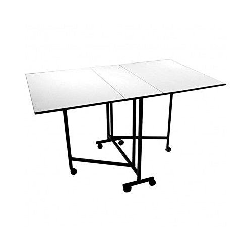 (US Stock)Kissemoj Easy Craft Table Quilting Sewing Folding Cutting Portable Workstation (Sewing Folding Cutting Table compare prices)