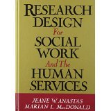 img - for Research Design for Social Work and the Human Services [HARDCOVER] [1994] [By Jeane W. Anastas] book / textbook / text book