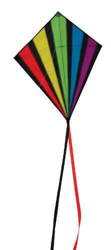 In the Breeze Rainbow Burst Diamond Kite