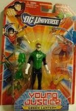 DC UNIVERSE Young Justice GREEN LANTERN action figure