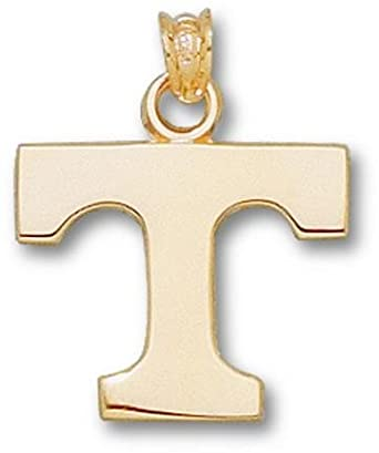 Tennessee Volunteers Power T Lapel Pin - 14KT Gold Jewelry by Logo Art