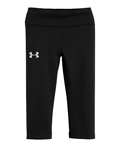Under Armour Baby-Girls Infant Sonic Capri Loose Fit, Black, 18 Months