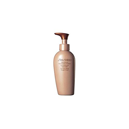 Shiseido quotidiano bronzo Idratante Emulsione (150 ml) (Confezione da 2)