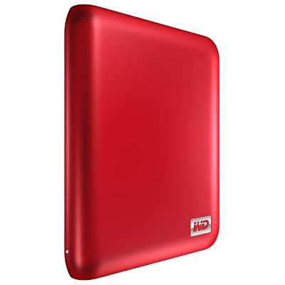 WD My Passport Essential SE 1 TB Metallic Red Portable Hard Drive (USB 3.0/2.0) by Western Digital