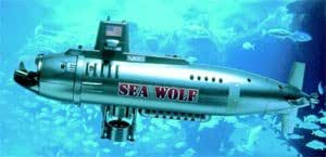 Nikko Sea Wolf RC Submarine