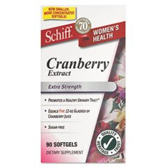Schiff Extra Strength Cranberry Extract 500 Mg Softgels