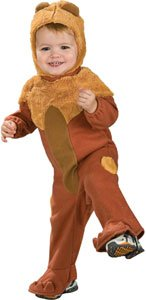 Wizard of Oz Cowardly Lion Baby Costume