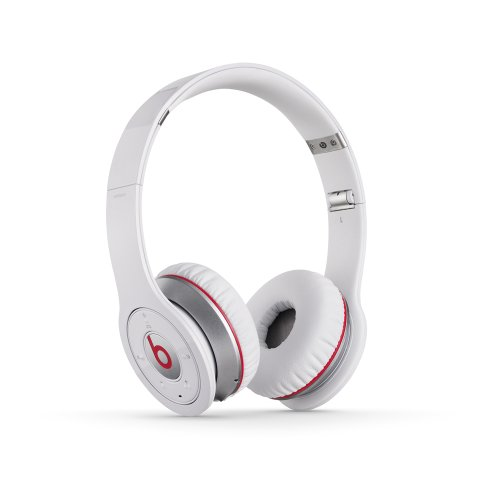 MONSTERCABLE - BEATS BY DR. DRE SOLO WHITE WIRELESS CUFFIE ON-EAR WIRELESS