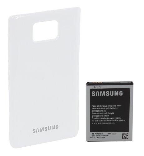 Samsung EB-K1A2EWEGSTD Akku mit Gehäuserückseite für Samsung Galaxy S II I9100 weiß