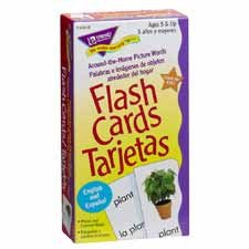 Around the Home/Palabras Skill Drill Flash Card Game