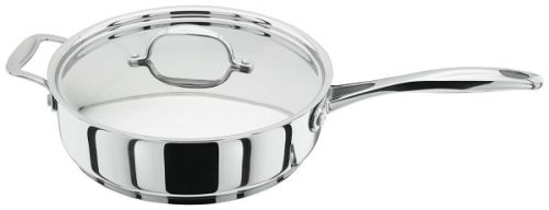 Stellar 7000 28cm Saute Pan with Helper Handles Non-Stick