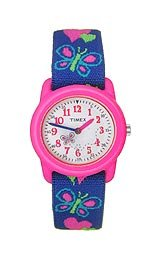 Timex Kids' Butterflies and Hearts watch #T89001