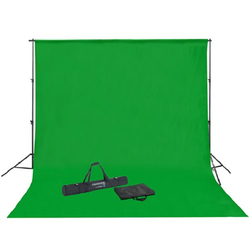 Square Perfect SP5000 Professional Quality Background Stand For Chromakey Green Screen And Backdrop