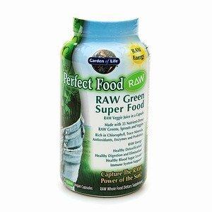 Garden Of Life Perfect Food Raw, Green Super Food Vegan Capsules 240 Ea front-1062431