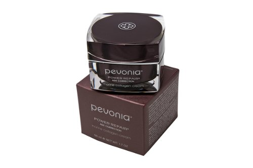 Pevonia Power Repair Age Correction Marine Collagen Cream, 1.7 Ounce