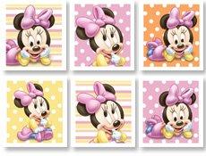 Hallmark Marketing Corp. Minnie'S 1St Birthday Sticker Sheets front-1067303
