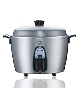 11 Cup Stainless Steel Rice Cooker TAC-11KN(UL) by Tatung