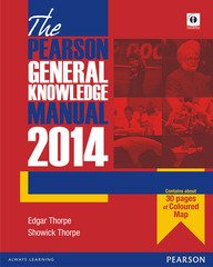 The Pearson General Knowledge Manual 2014 (Old Edition)