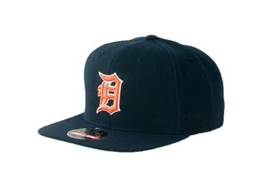 MLB Men's Detroit Tigers Cooperstown 400 Snapback Cap (Navy, Adjustable)